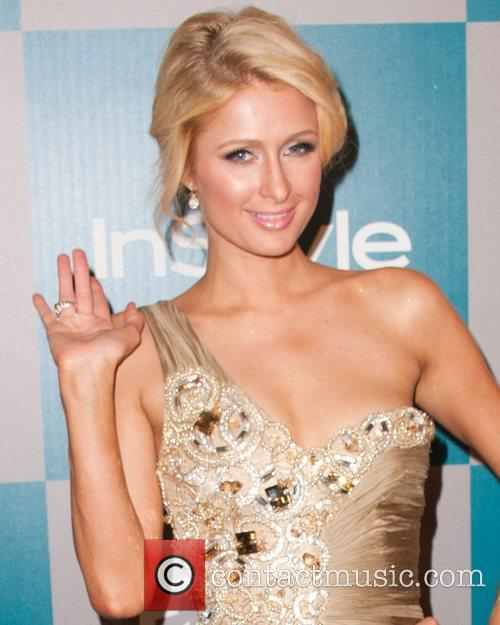 Paris Hilton and Beverly Hilton Hotel 5