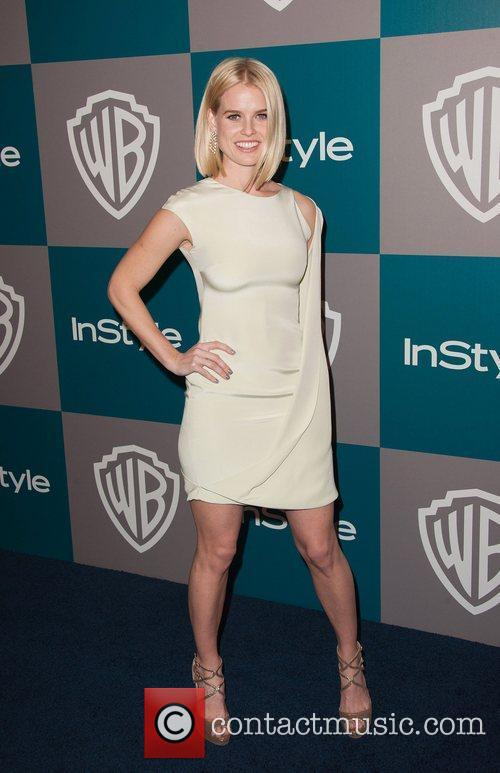 Alice Eve and Beverly Hilton Hotel 2