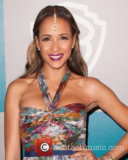 Dania Ramirez and Beverly Hilton Hotel 4