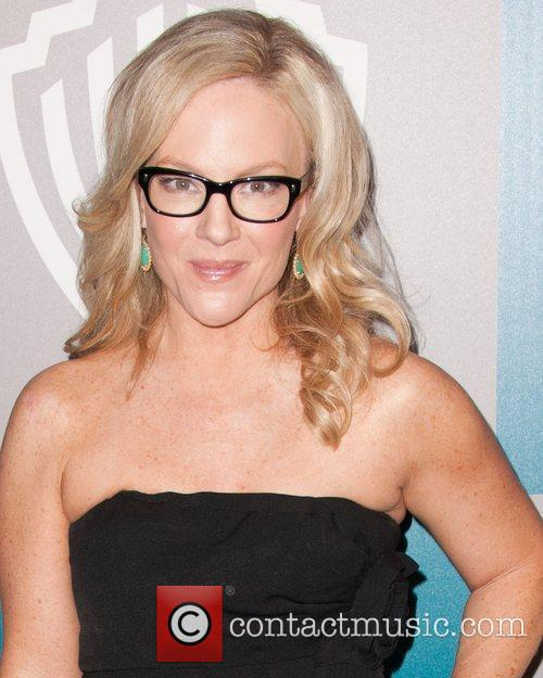 Rachael Harris and Beverly Hilton Hotel 2