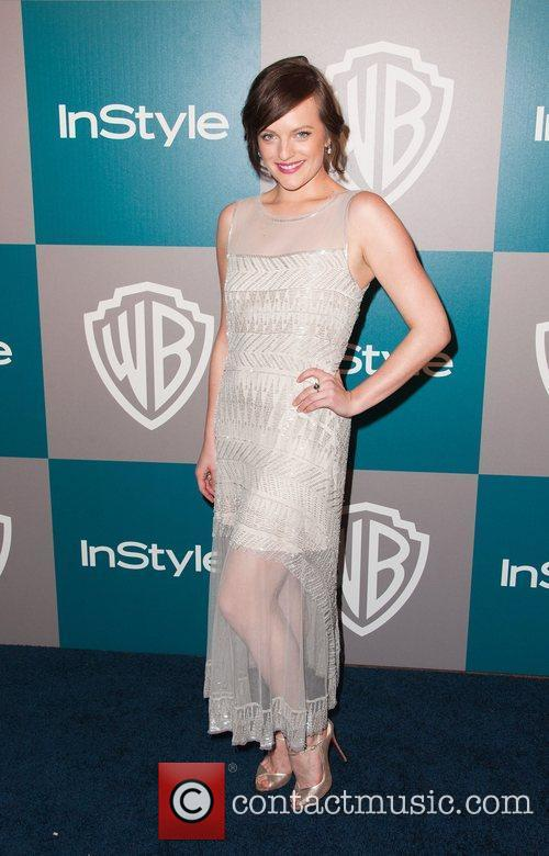 Elisabeth Moss and Beverly Hilton Hotel 1