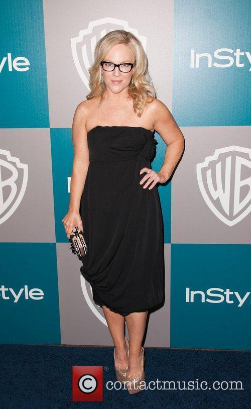 Rachael Harris and Beverly Hilton Hotel 1