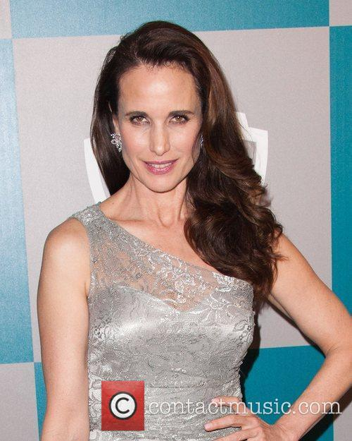 Andie Macdowell and Beverly Hilton Hotel 2