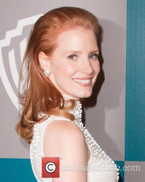 Jessica Chastain and Beverly Hilton Hotel 3