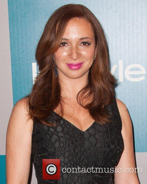 Maya Rudolph and Beverly Hilton Hotel 3