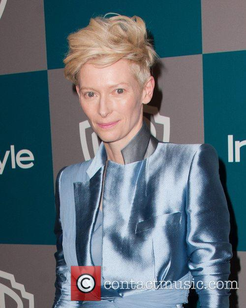 Tilda Swinton and Beverly Hilton Hotel 3