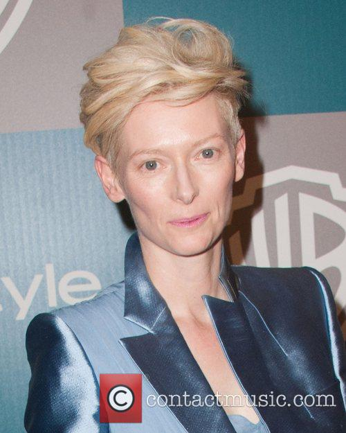 Tilda Swinton and Beverly Hilton Hotel 4