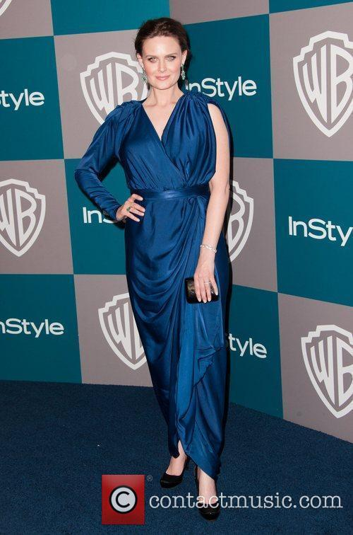 Emily Deschanel and Beverly Hilton Hotel 1