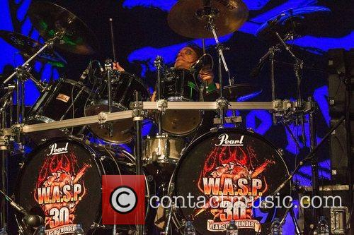 Lisboa, PORTUGAL: W.A.S.P. performing live at Campo Pequeno...