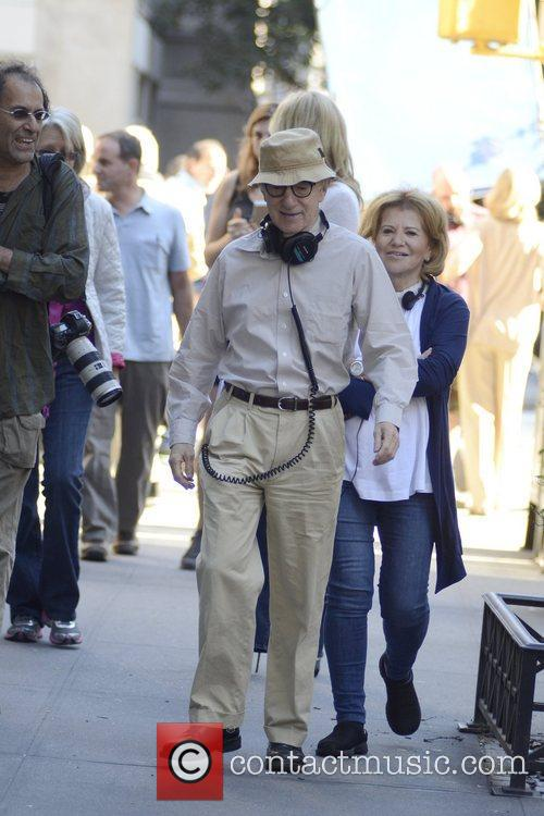 woody allen filming scenes for new woody 5908902
