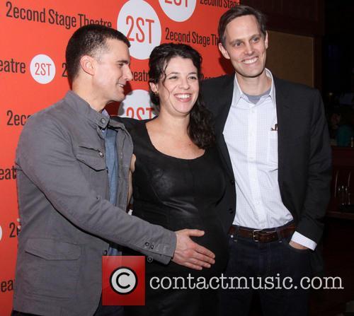 Armando Riesco, Quiara Alegria Hudes and Davis Mccallum