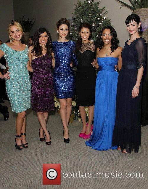 Arielle Kebbel, Charlene Amoia, Emmy Rossum, Katerina Graham, Krysten Ritter and Nina Dobrev 11
