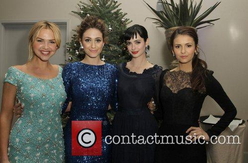 Arielle Kebbel, Emmy Rossum, Krysten Ritter and Nina Dobrev 7