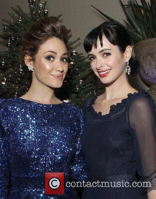 Emmy Rossum and Krysten Ritter 2