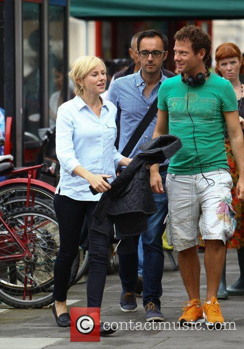 Naomi Watts on the set of new movie...