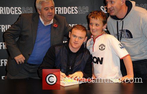 Wayne Rooney and Selfridges 9