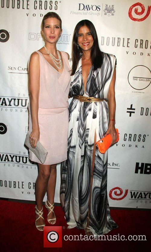 Ivanka Trump and Patricia Velasquez 7