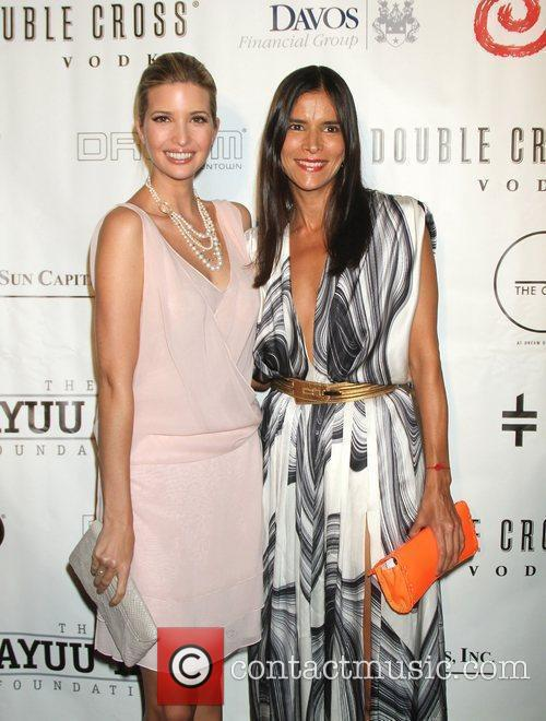 Ivanka Trump and Patricia Velasquez 8