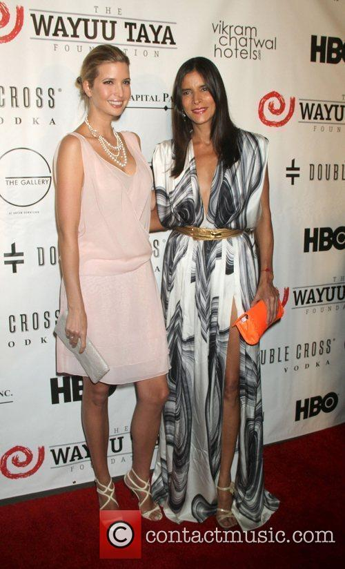 Ivanka Trump and Patricia Velasquez 9