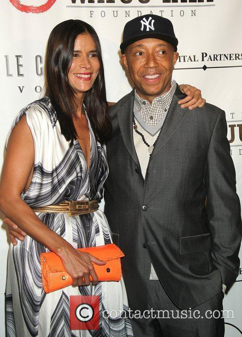 Patricia Velasquez and Russell Simmons 8