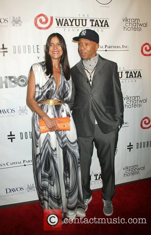 Patricia Velasquez and Russell Simmons 9