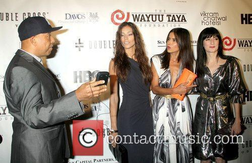 Russell Simmons, Dayana Mendoza and Patricia Velasquez 1