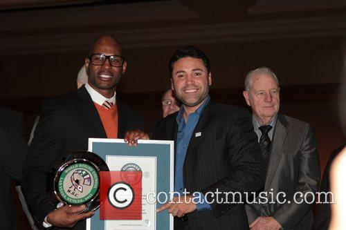 Bernard Hopkins and Oscar De La Hoya 3
