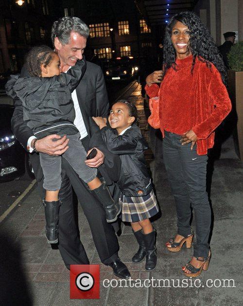 Sinitta and her family Gala screening of 'We...