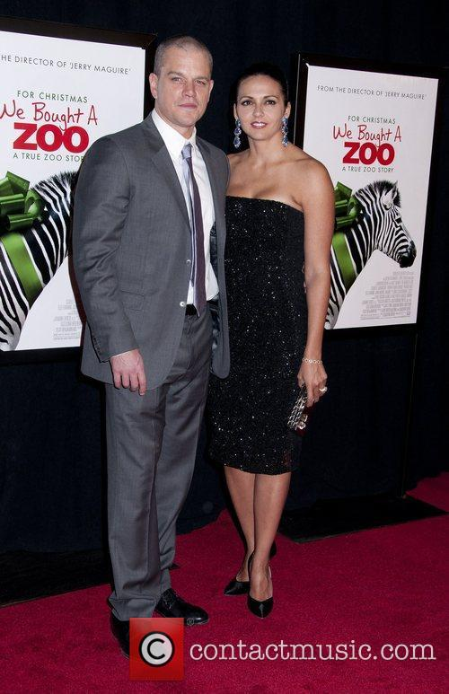 Matt Damon and Luciana Barroso 8