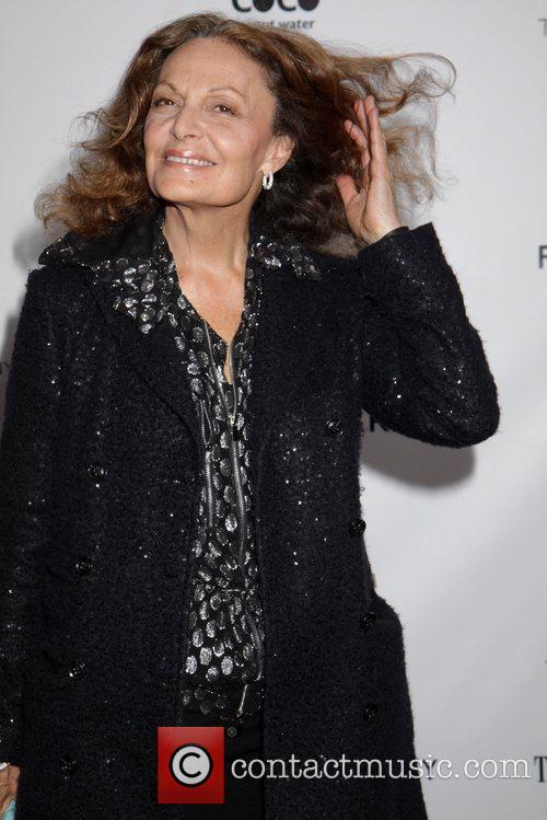 Diane Von Furstenberg and Ziegfeld Theatre 2