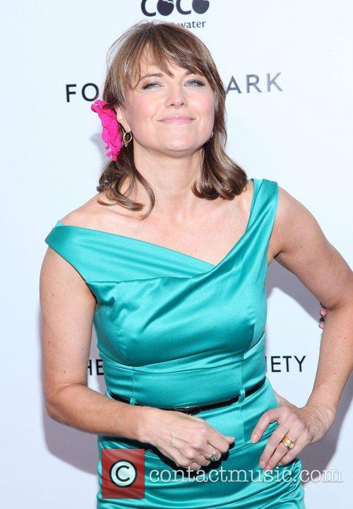 Lucy Lawless and Ziegfeld Theatre 1