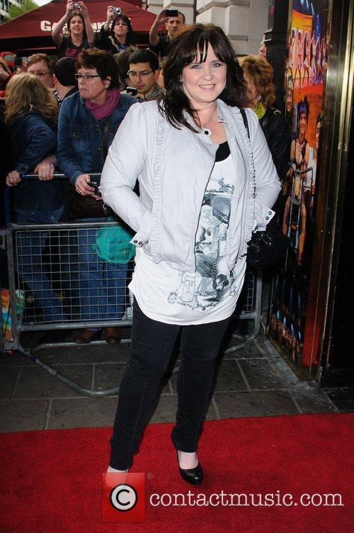 Coleen Nolan 'We Will Rock You' 10th year...