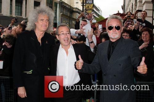 Brian May, Ben Elton and Roger Taylor 2