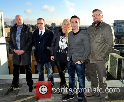 Martin Compston, Stephen Mccole, Laura Mcmonagle, Ray Burdis and Paul Ferris 3