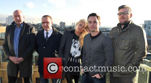 Martin Compston, Stephen Mccole, Laura Mcmonagle, Ray Burdis and Paul Ferris 5