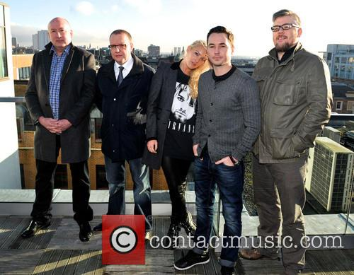Martin Compston, Stephen Mccole, Laura Mcmonagle, Ray Burdis and Paul Ferris 1