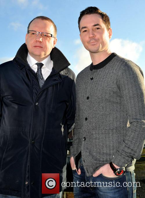 Paul Ferris and Martin Compston 2