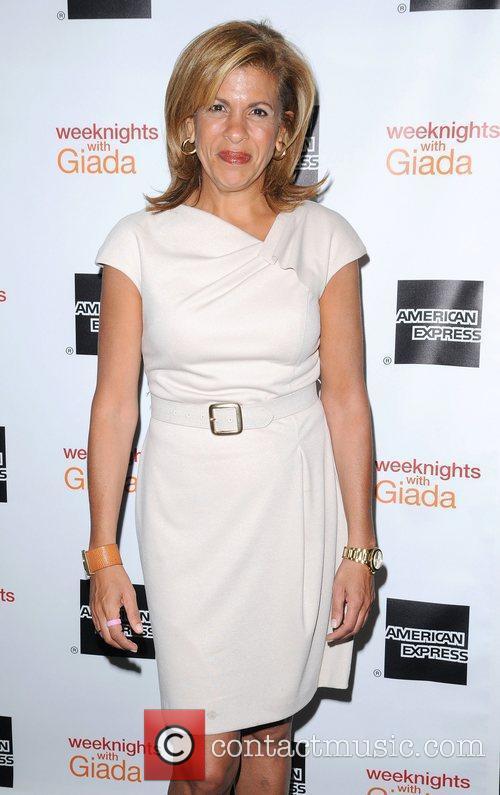 Hoda Kotb at the ''Weeknights with Giada' book...