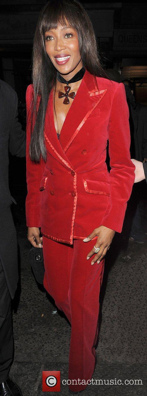 Naomi Campbell, Harvey Weinstein and Bafta 8