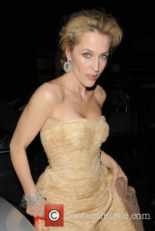 Gillian Anderson, Harvey Weinstein and Bafta 2