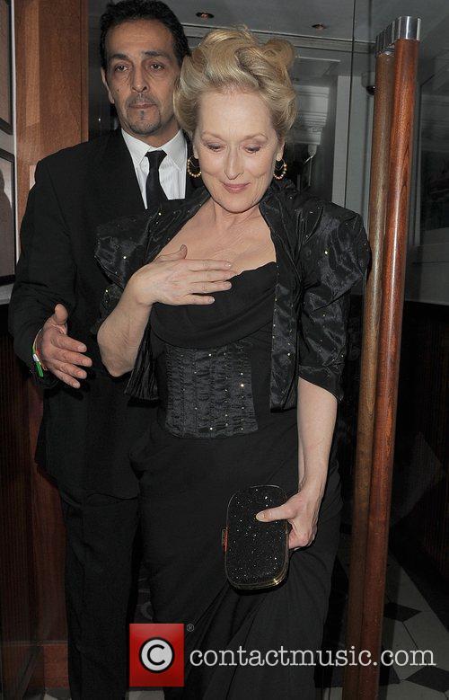 Meryl Streep, Harvey Weinstein and Bafta 1