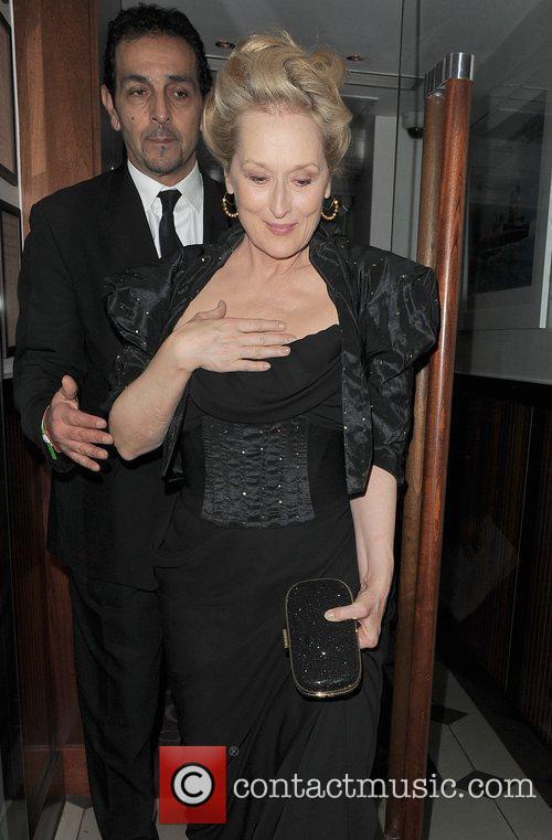 Meryl Streep, Harvey Weinstein and Bafta 2
