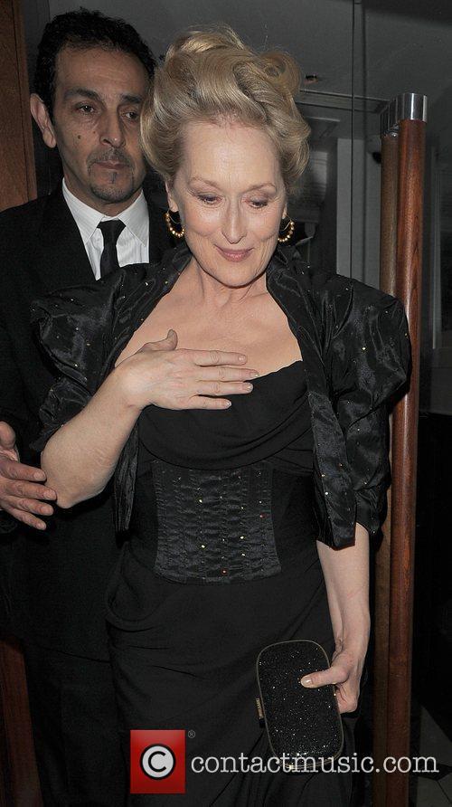 Meryl Streep, Harvey Weinstein and Bafta 3