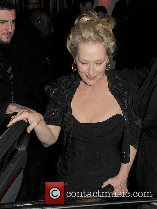 Meryl Streep, Harvey Weinstein, Bafta