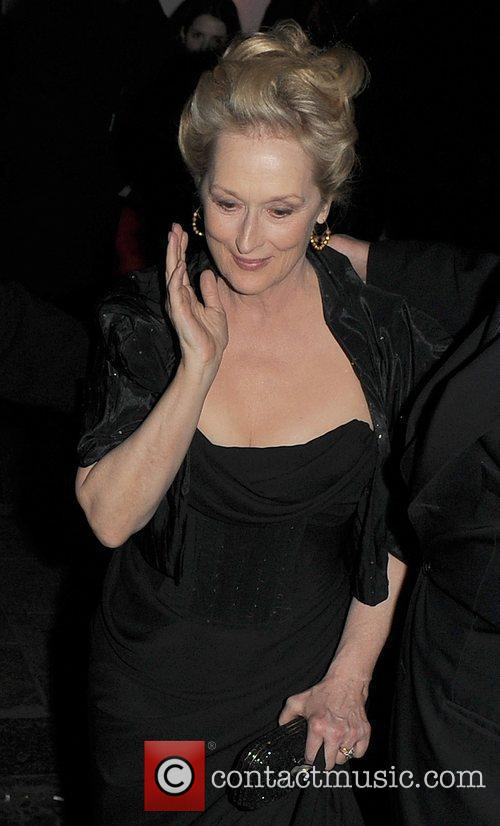 Meryl Streep, Harvey Weinstein and Bafta 6