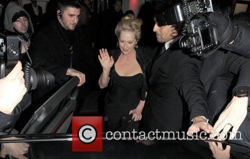 Meryl Streep, Harvey Weinstein and Bafta 7