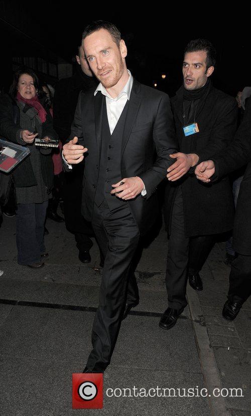 Michael Fassbender, Harvey Weinstein and Bafta