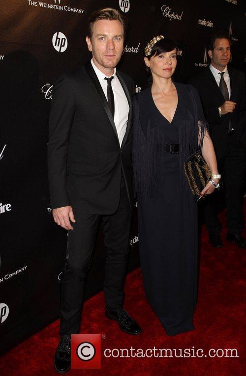 Ewan McGregor and Eve Mavrakis The 69th Annual...