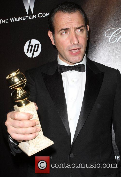 Jean Dujardin and Beverly Hilton Hotel 1