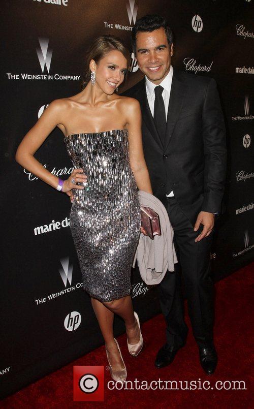 Jessica Alba, Cash Warren and Beverly Hilton Hotel 2